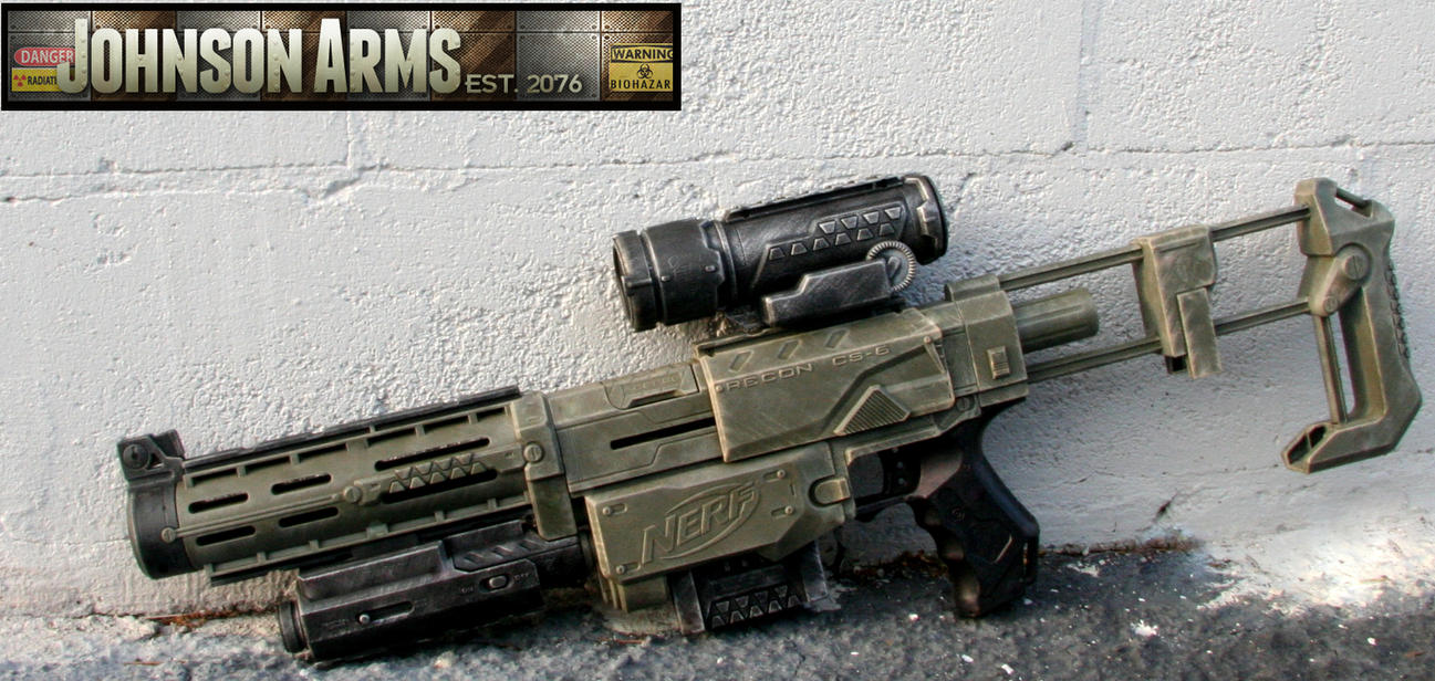 Nerf Recon - Future Military by JohnsonArmsProps ...