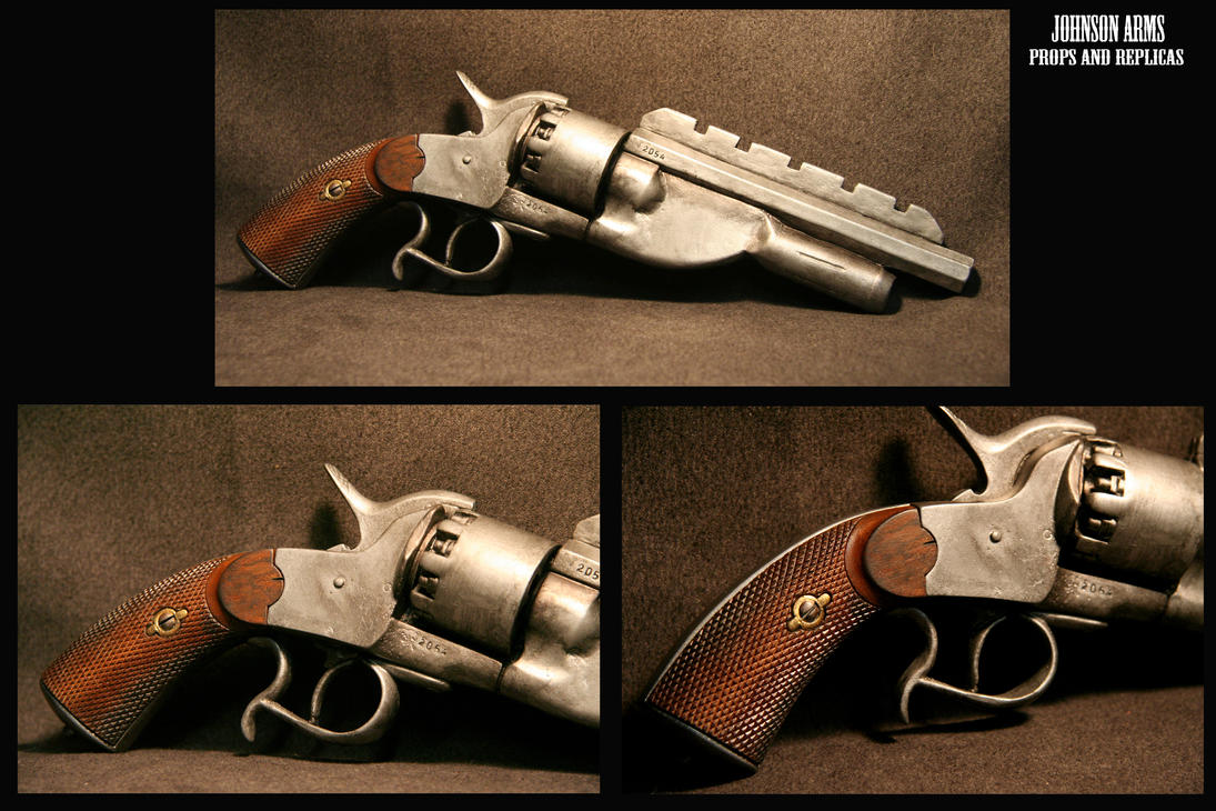 Jayne Cobb's Lemat 3 complete by JohnsonArms
