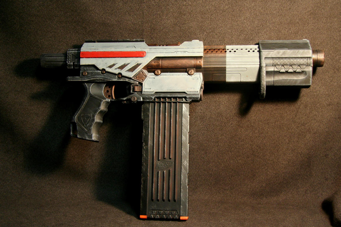 Custom Mass Effect Nerf Gun by JohnsonArms