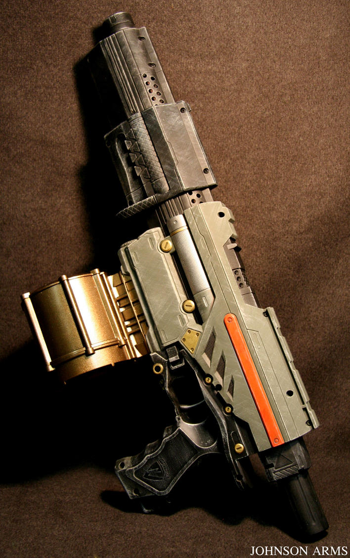 Starwars Themed Nerf Gun by JohnsonArms
