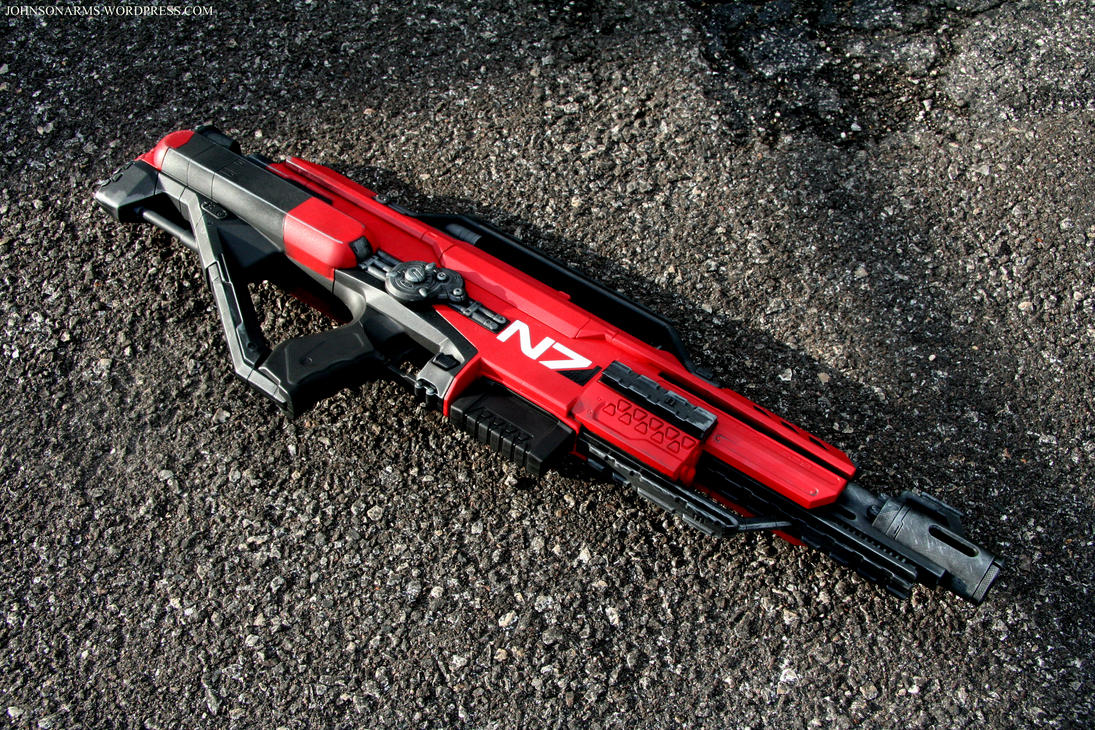 Mass Effect Nerf Stampede by JohnsonArms