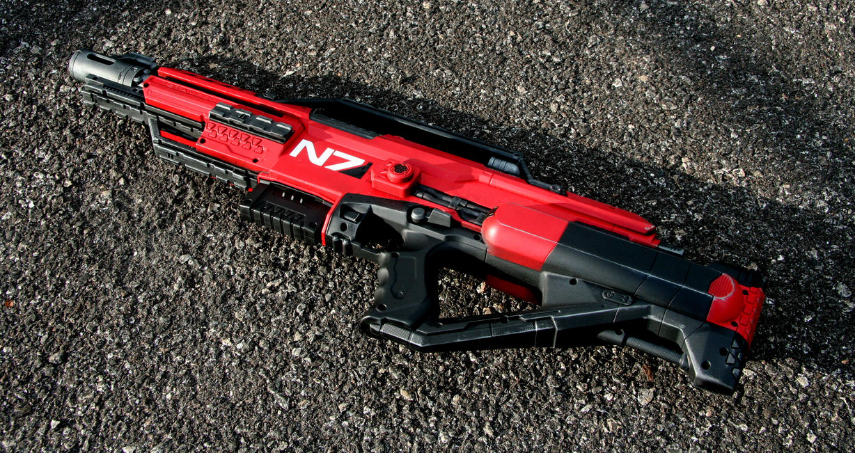 Mass Effect Nerf Stampede 2 by JohnsonArms