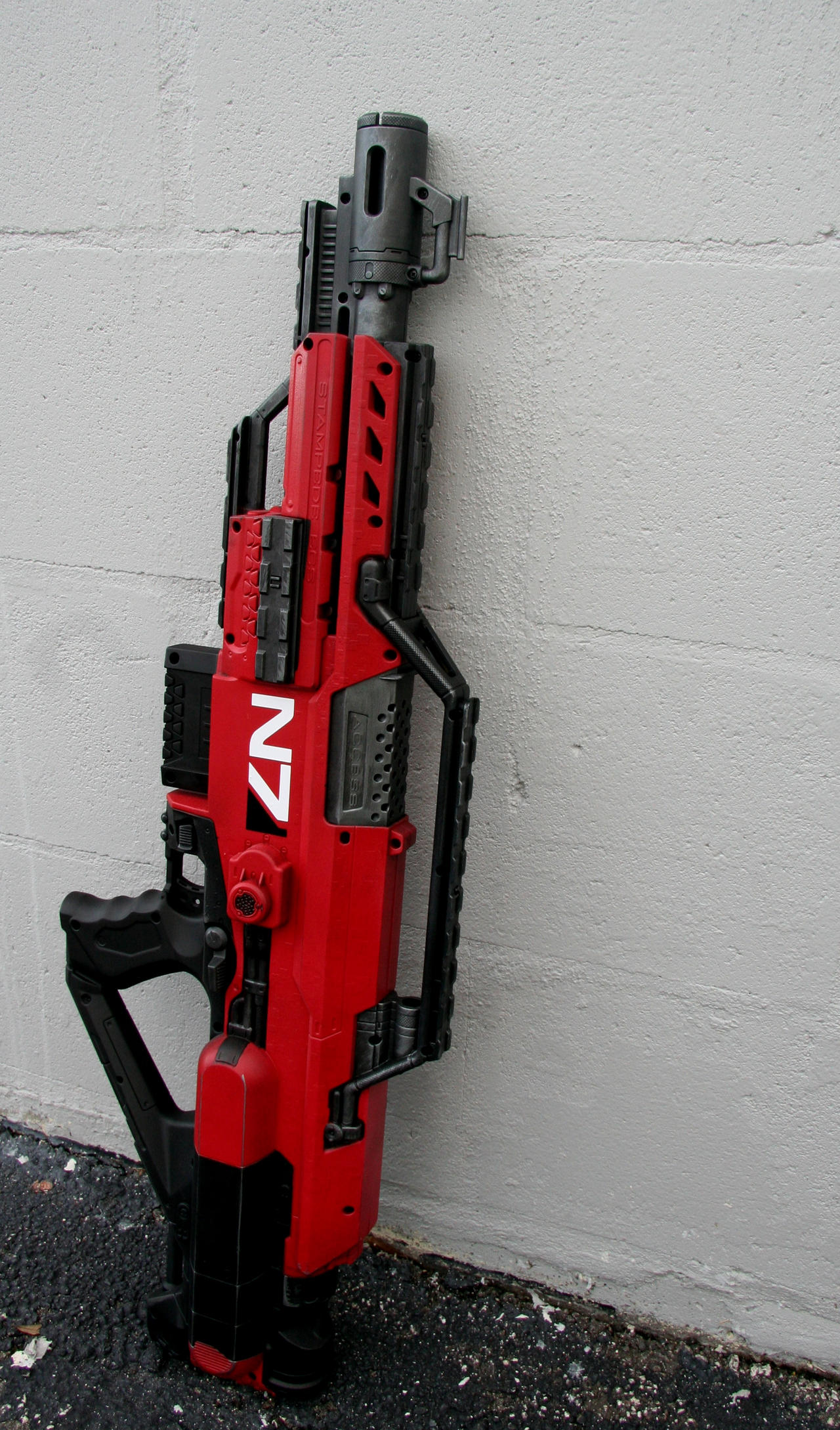 Mass Effect Nerf Stampede 3 by JohnsonArms