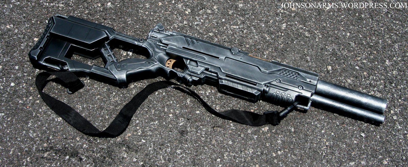 WarHammer 40k Long Las prop 2 by JohnsonArms