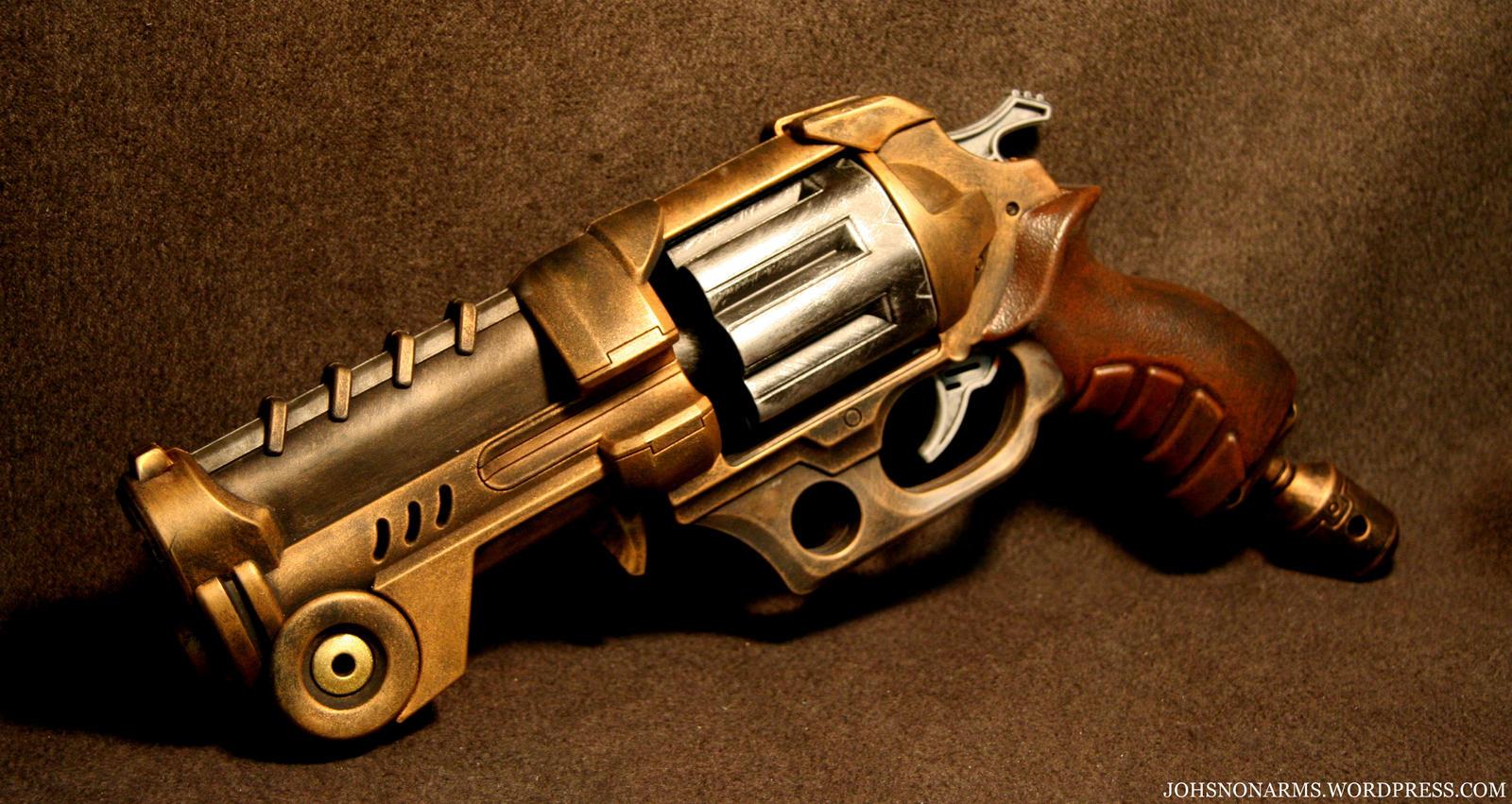 Steampunk gun nerf