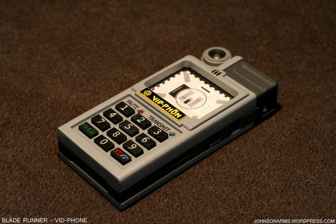 Blade Runner Vid-phone Prop by JohnsonArms