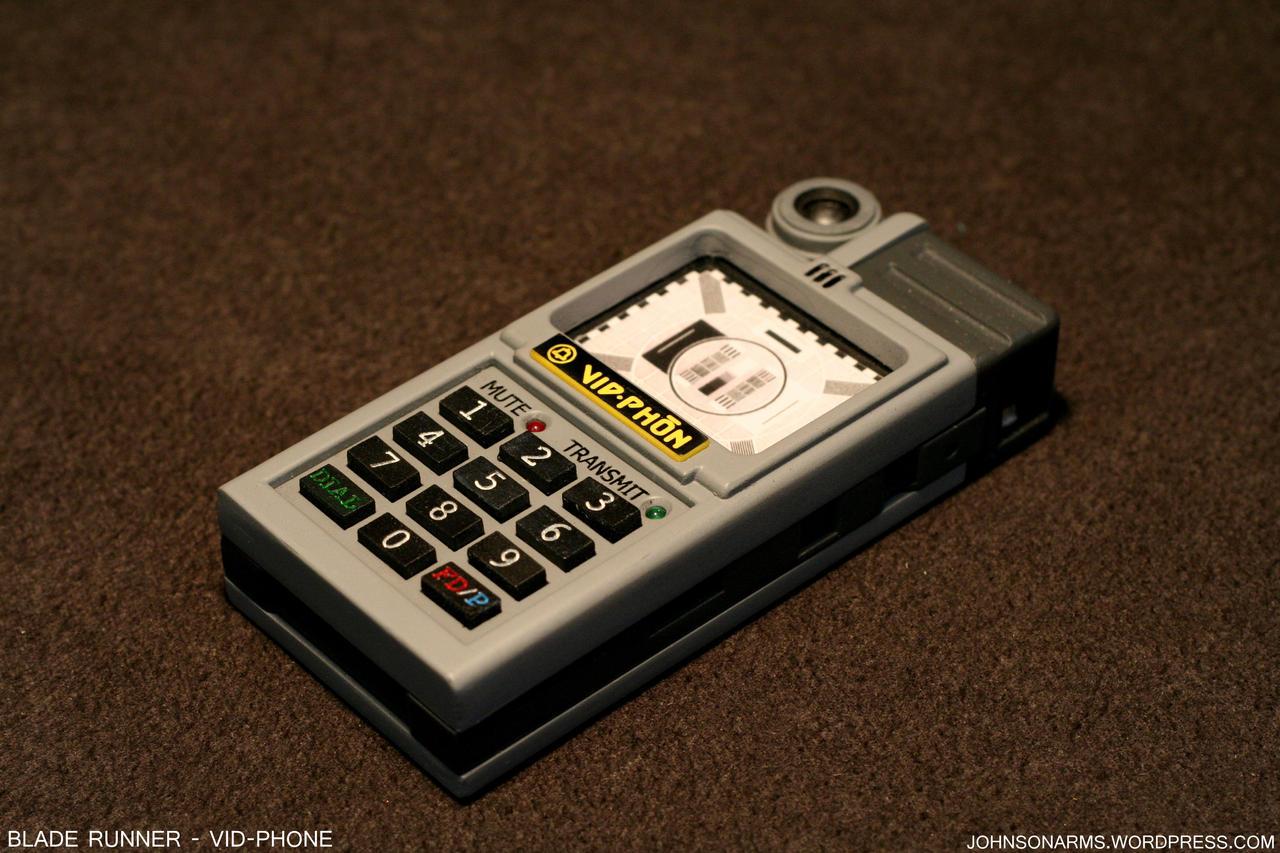 Blade Runner Vid-phone Prop by JohnsonArms