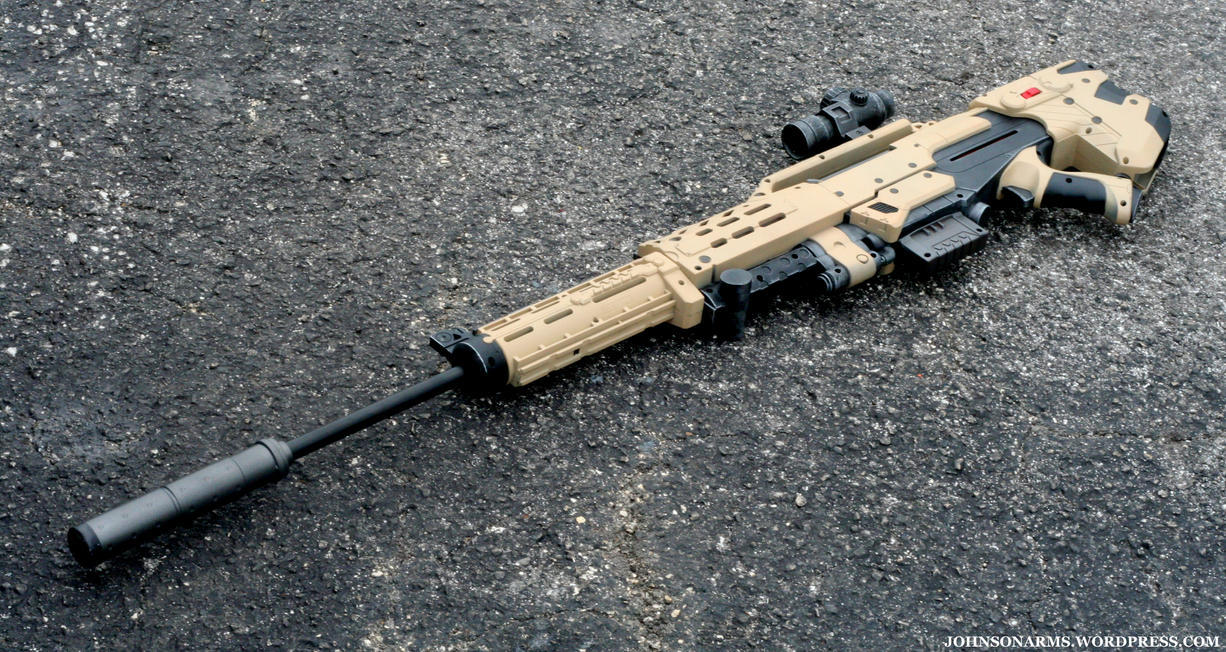 Longshot Sniper Conversion 1 by JohnsonArms