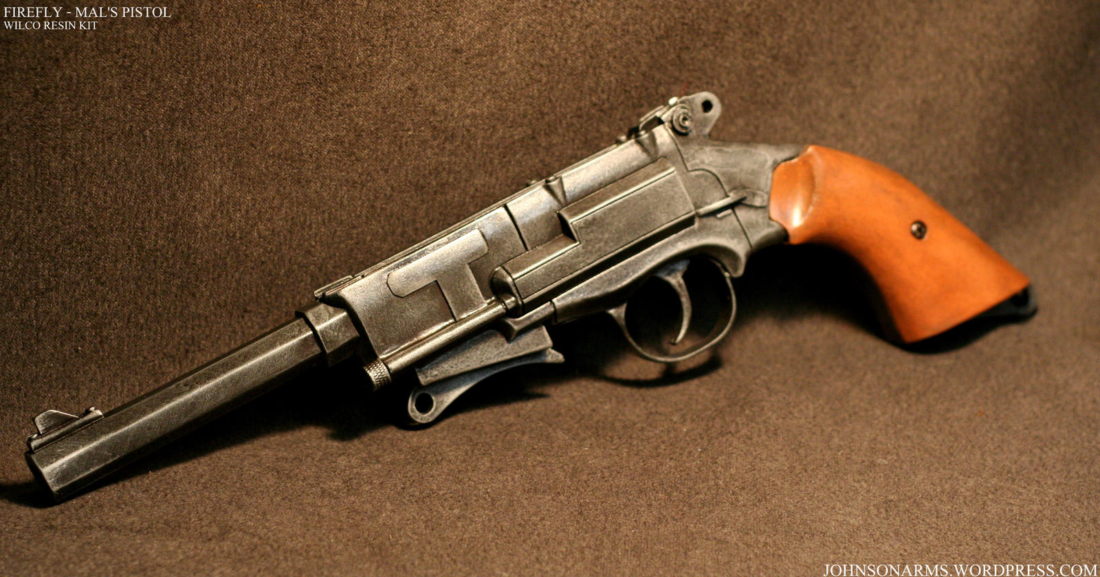 Mal's Pistol from Firefly by JohnsonArms