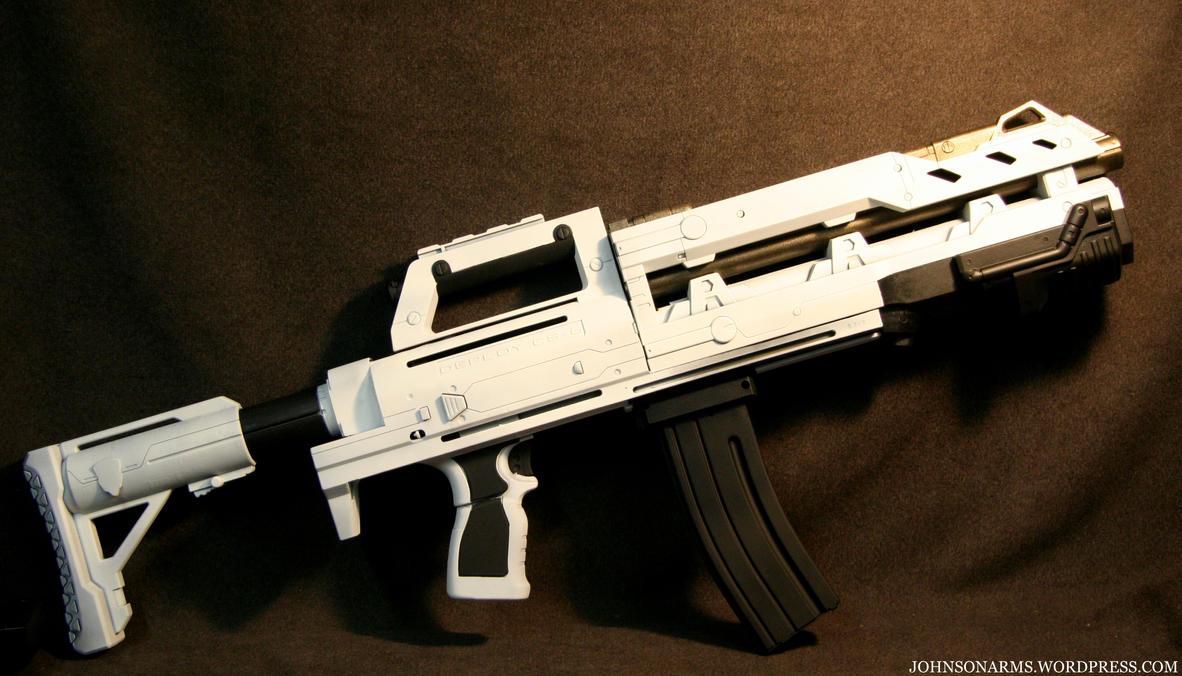 The Beast Heavy Gunner Rifle 2 by JohnsonArms