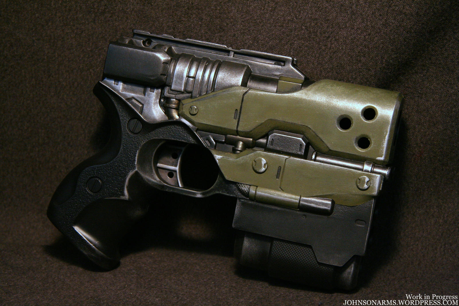 HALO Nerf Gun Prop Project by JohnsonArms