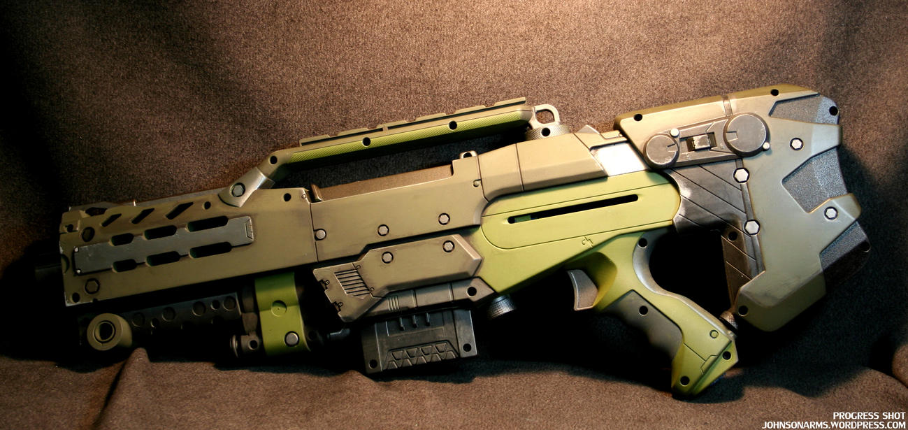 Alien's inspired Longhshot Progress 2 by JohnsonArms