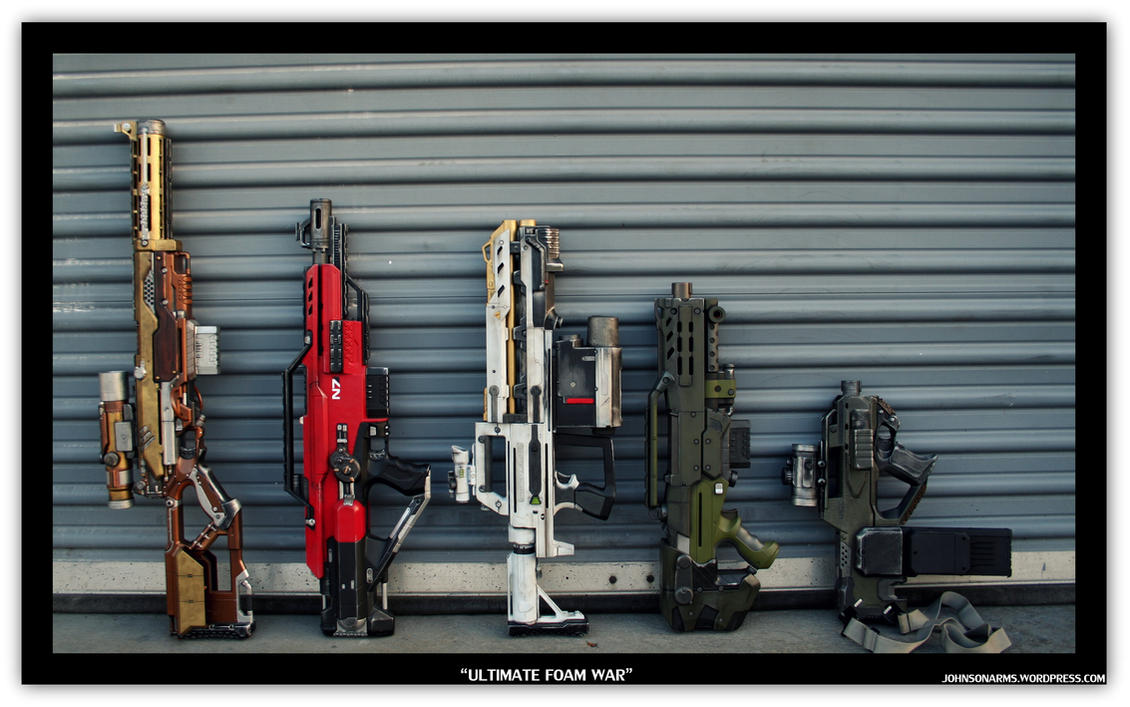 Ultimate Custom Nerf Collection 1 by JohnsonArms