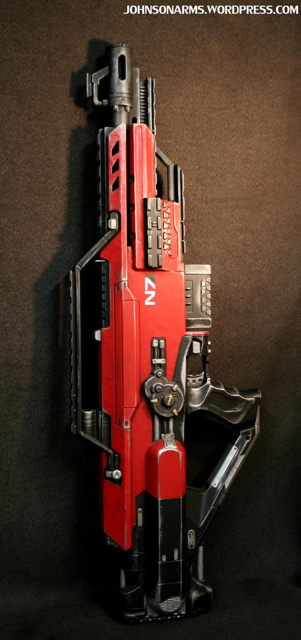 Mass Effect-themed Nerf Stampede 3/9/12 by JohnsonArms