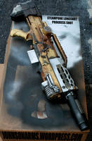 Steampunk/Fallout Style Longshot Progress Shot 2 by JohnsonArmsProps
