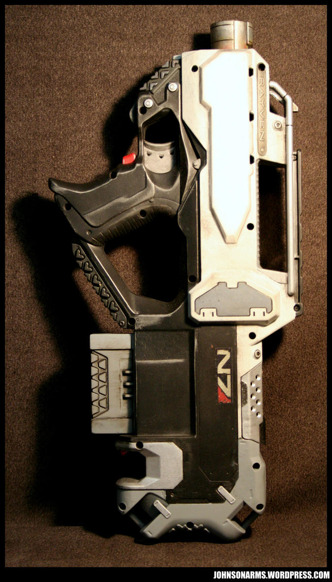 Mass Effect Nerf Rayven 1 by JohnsonArms