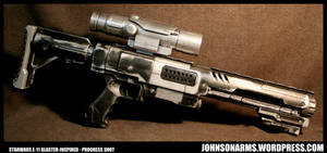 Stormtrooper E-11 Inspired Nerf Raider Progress by JohnsonArmsProps