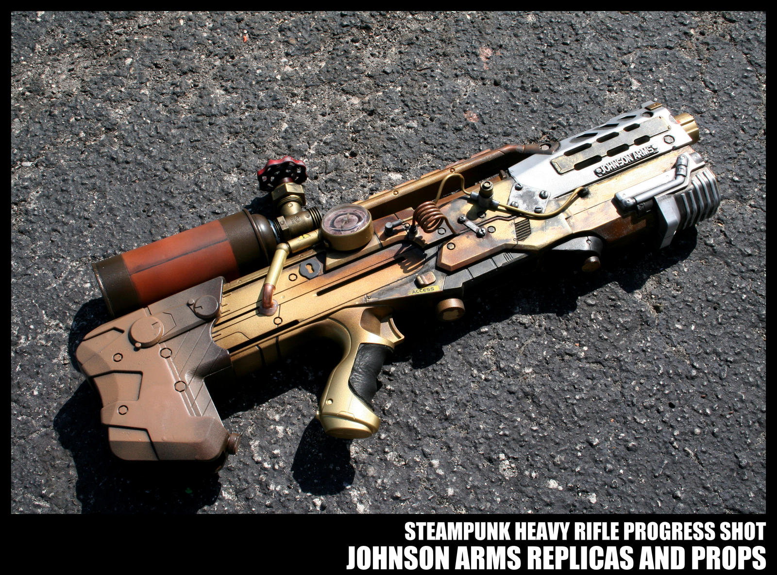 Advanced Steampunk Technology Update by JohnsonArms