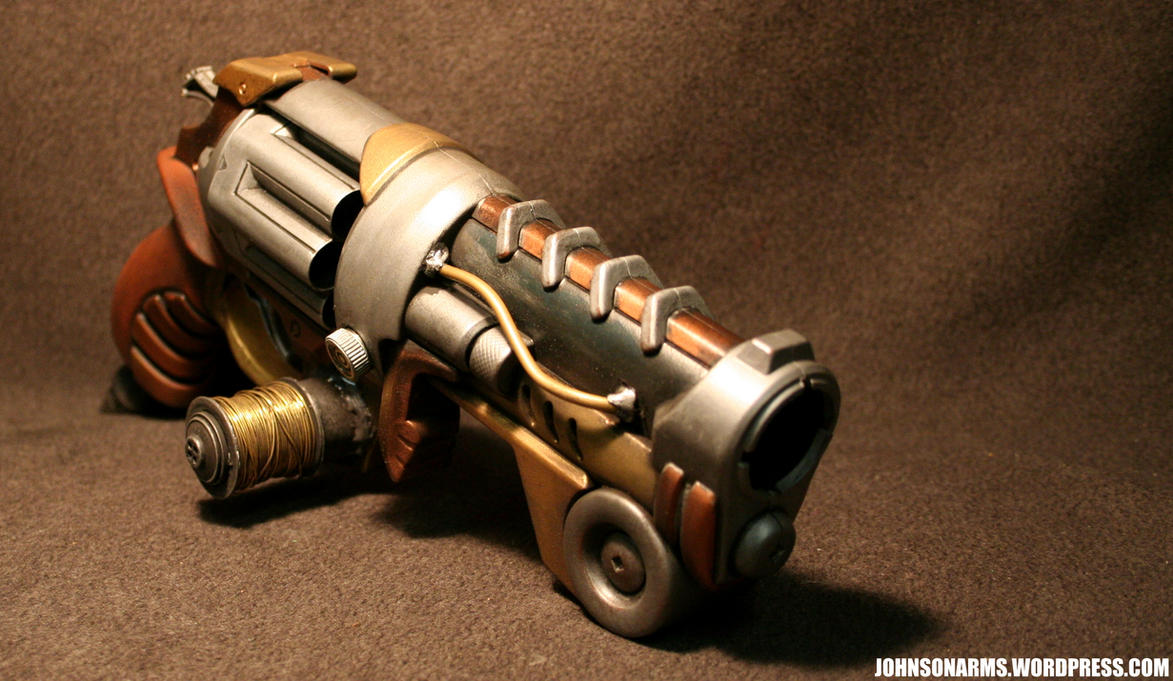 Tesla Revolver by JohnsonArms