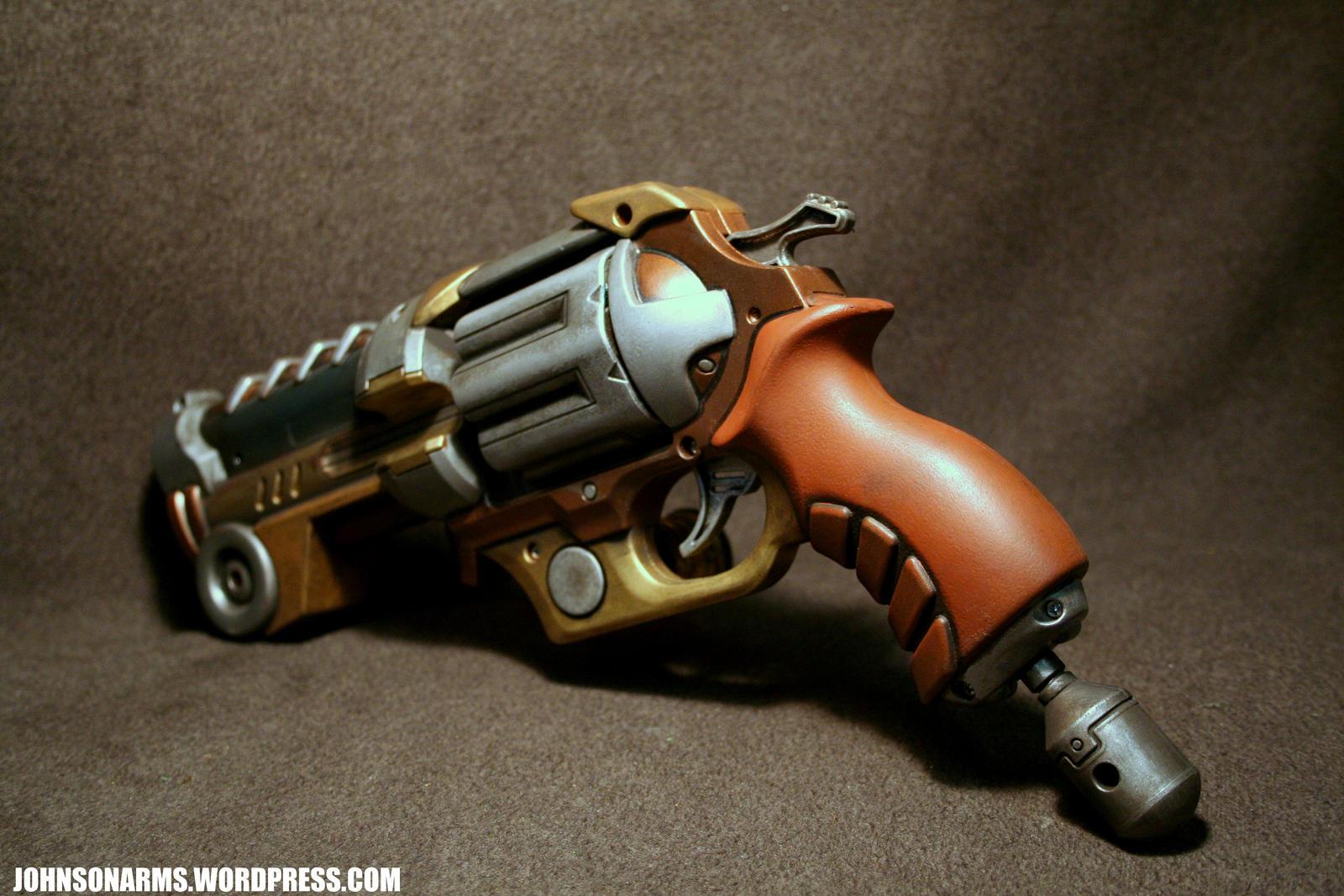 Tesla Gun Reverse side by JohnsonArms