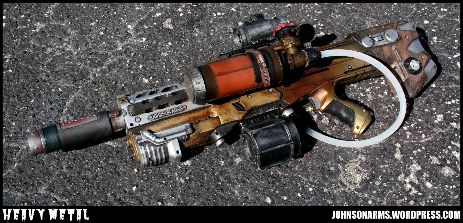 Heavy Metal Finished 1 by JohnsonArms