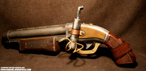 Steapunk Shotgun Progress