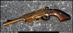 Captain Mal's Pistol from Firefly Variant Finished
