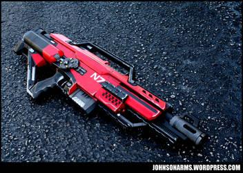 Mass Effect N7 Stampede - Dynamic Shot by JohnsonArmsProps