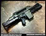 Nerf Stampede Pulse Rifle Progress