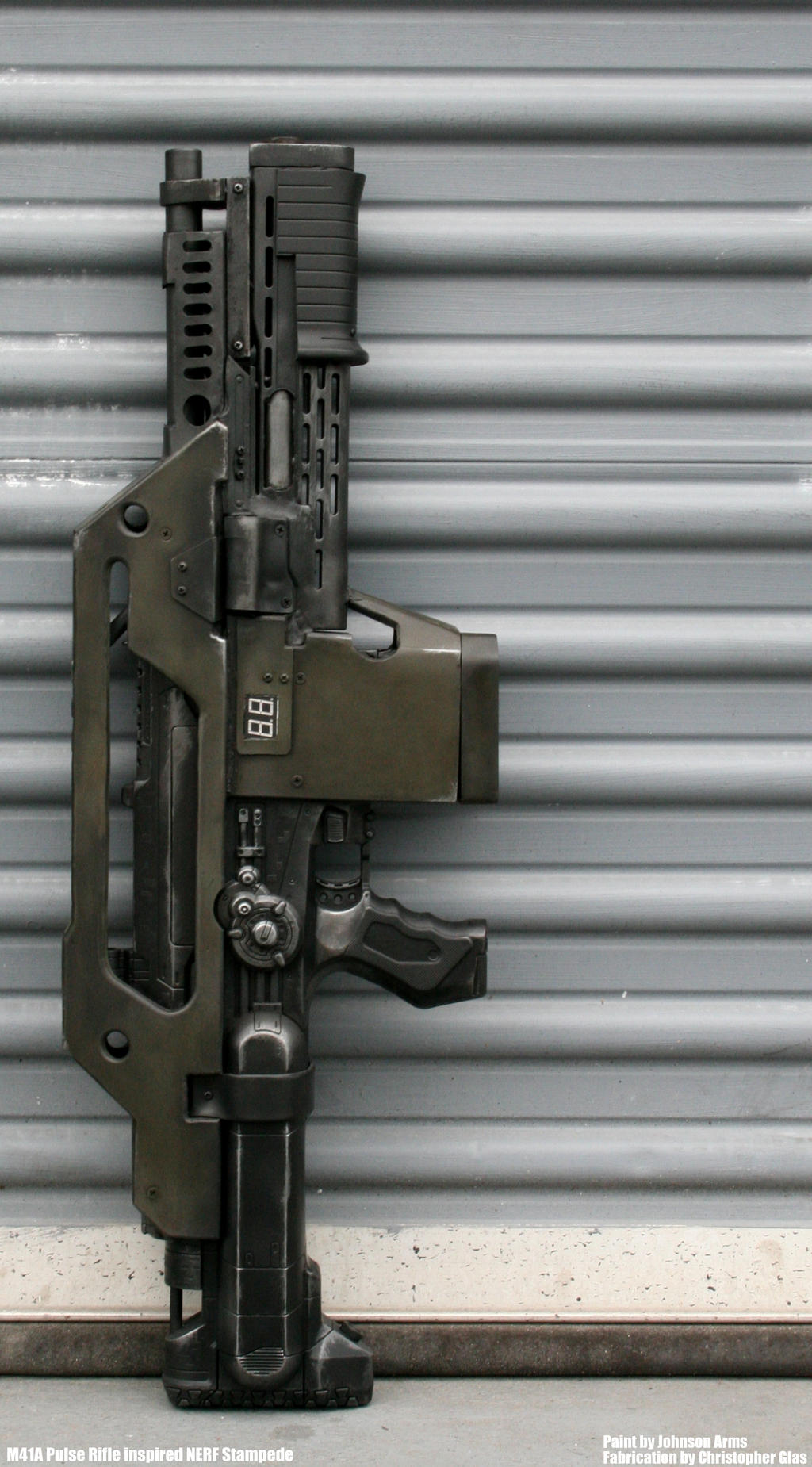 Tactical Tag Johnson Arms Pulse Rifle Inspired Stampede