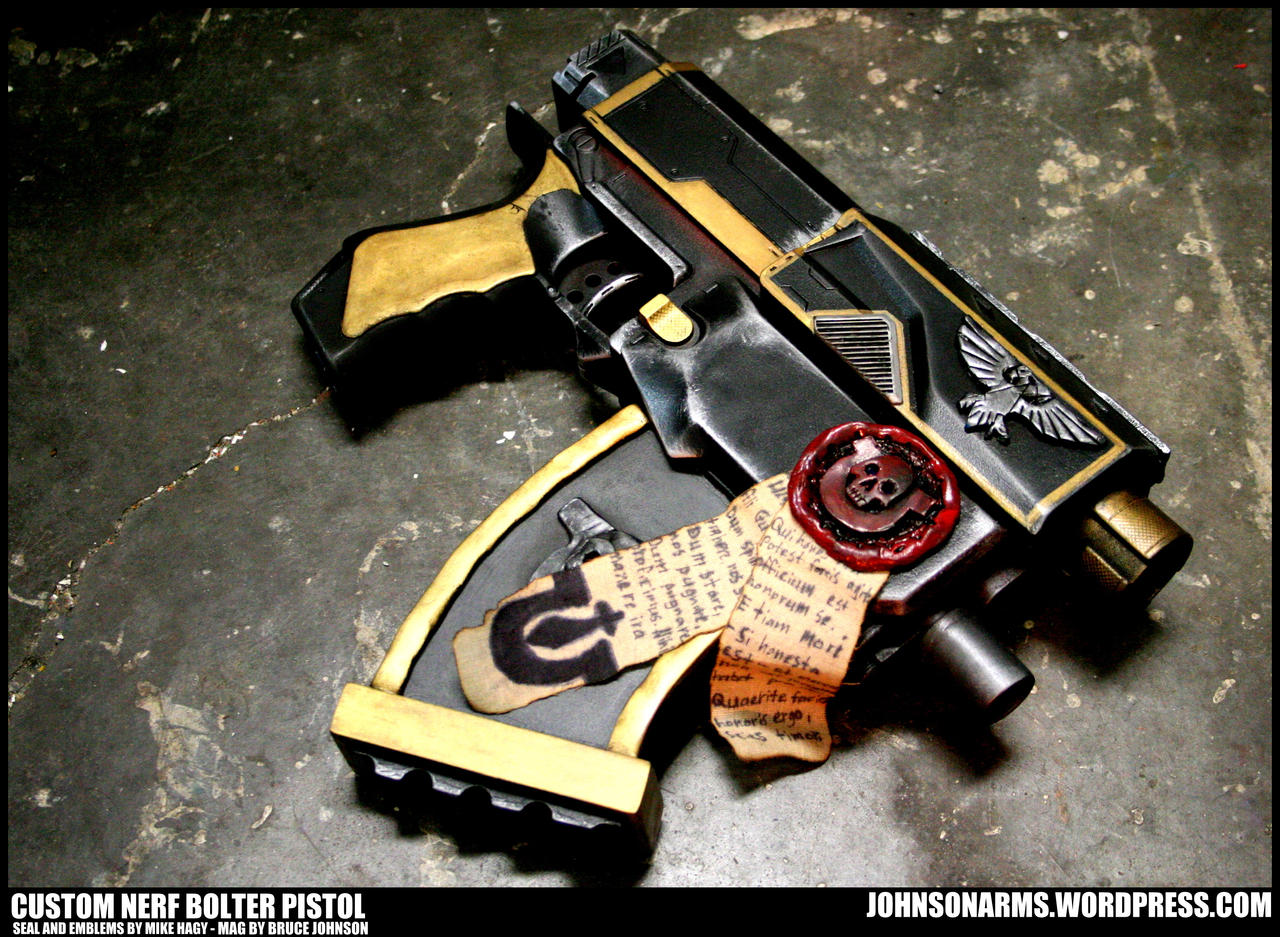 Custom Nerf Recon by JohnsonArms