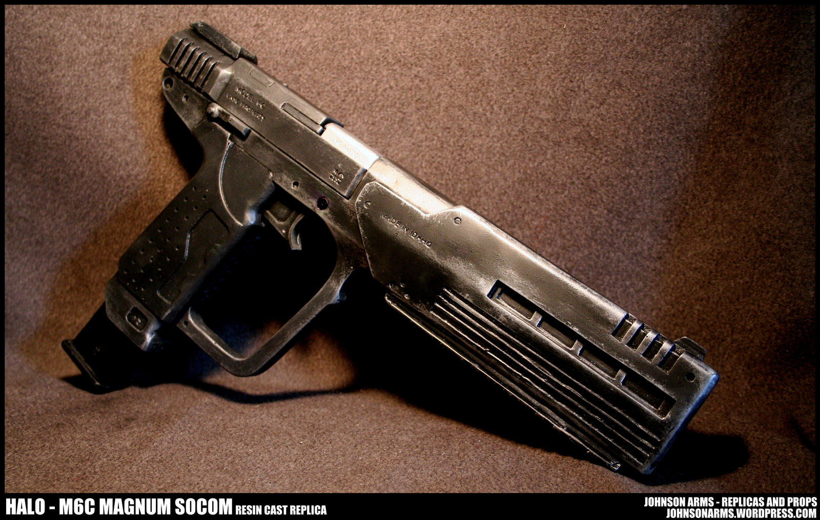 Halo M6C SOCOM Resin Replica by JohnsonArms