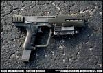 Halo M6C Magnum SOCOM - Solid Resin Replica