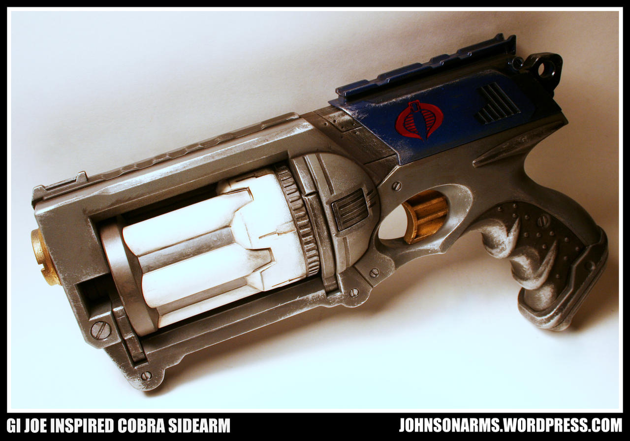 Cobra Commander's Revolver - Nerf Custom by JohnsonArms
