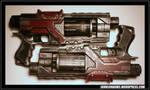 GI Joe - Baroness Cosplay - Dual Pistols