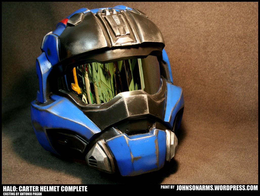 HALO Carter Commando Helmet Complete by JohnsonArms