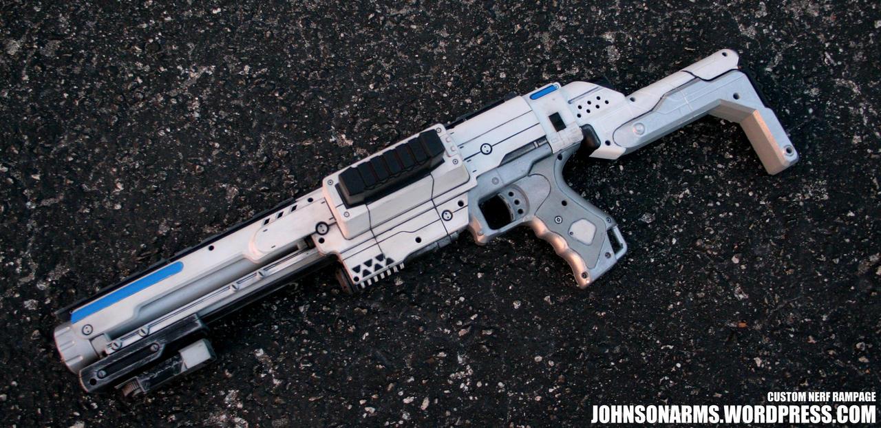Starwars inspired Nerf Elite Rampage by JohnsonArms