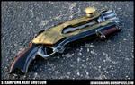 Steampunk Era Shotgun Prop