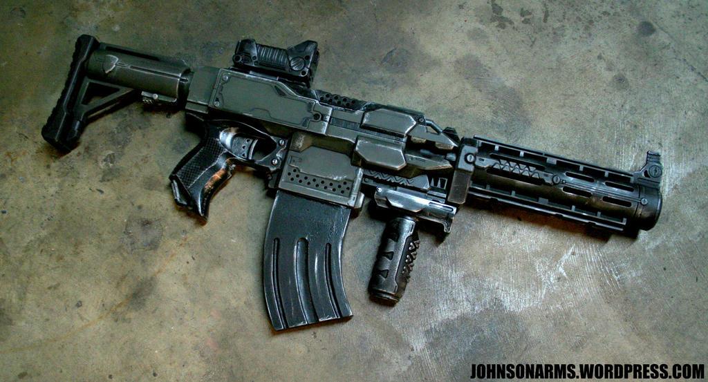 Custom Nerf Stryfe by JohnsonArmsProps ...