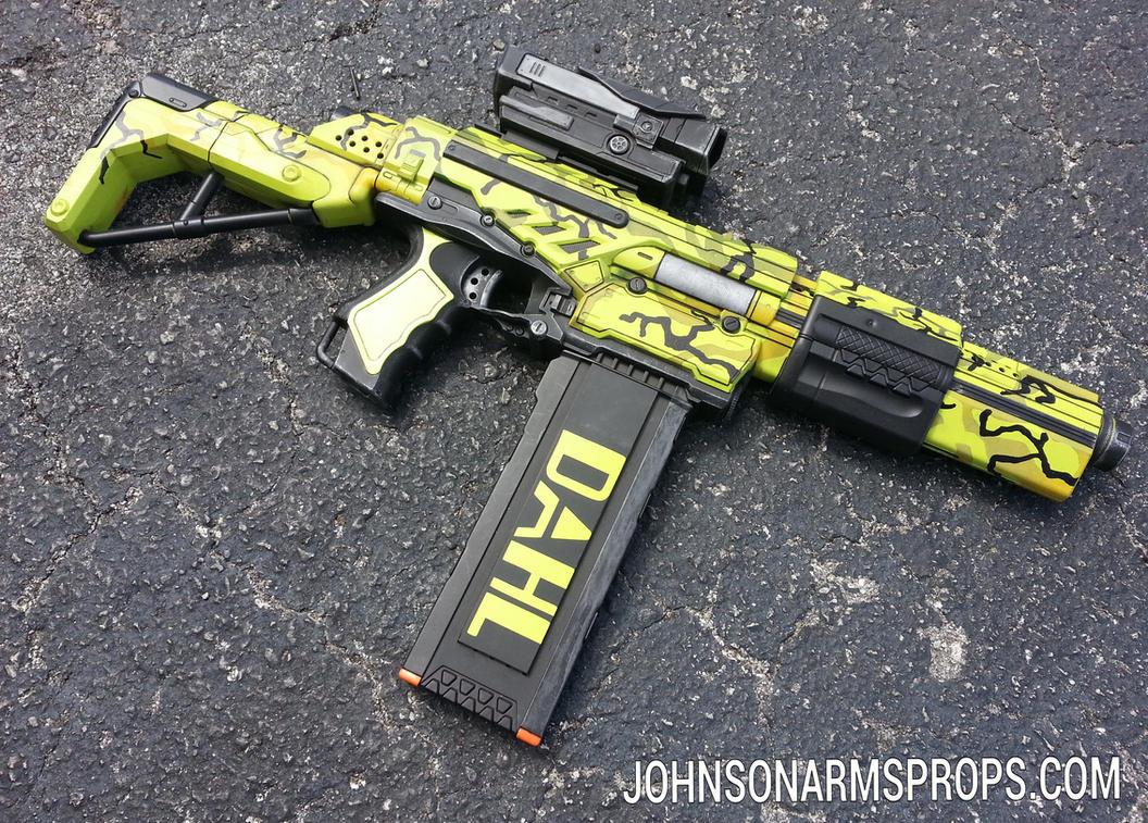 Custom Borderlands 2 Attack Scorpio NERF by JohnsonArmsProps