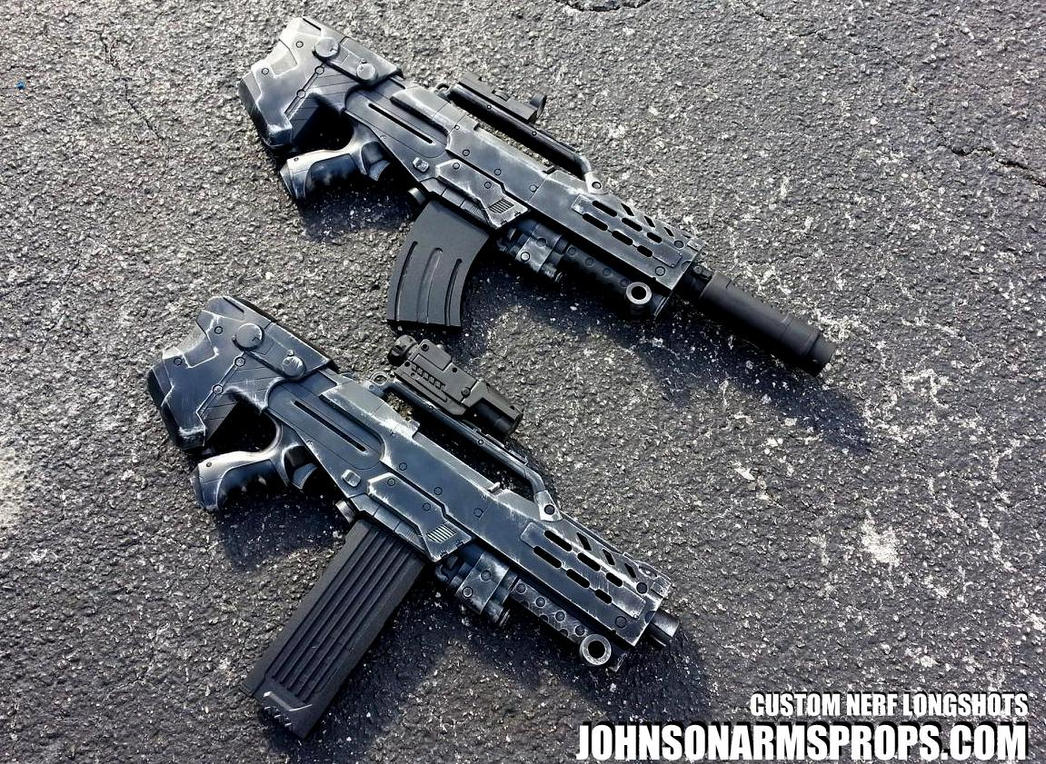 Tactical Longshots by JohnsonArms