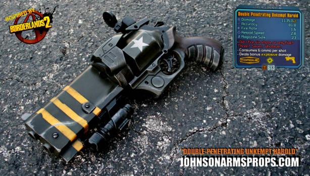 Borderlands 2 Double-Penetrating Unkempt Harold by JohnsonArmsProps