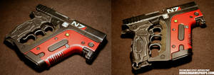 Custom Mass Effect-inspired Energy Pistol