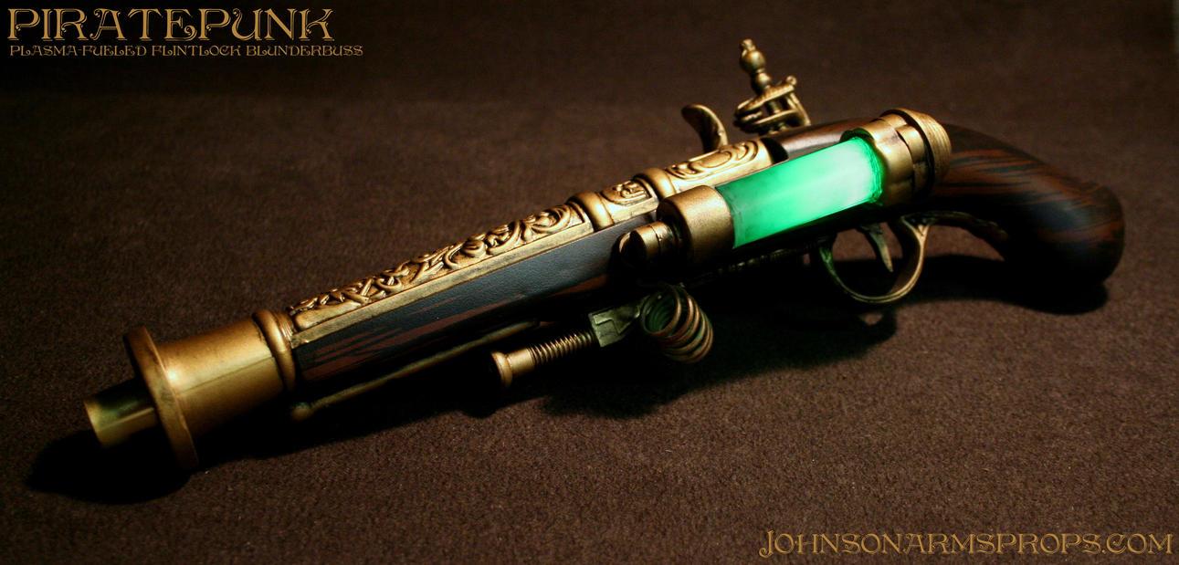 Milícia alvilága Plasma_fueled_flintlock_blunderbuss_pistol_by_johnsonarms-d6n5ct4