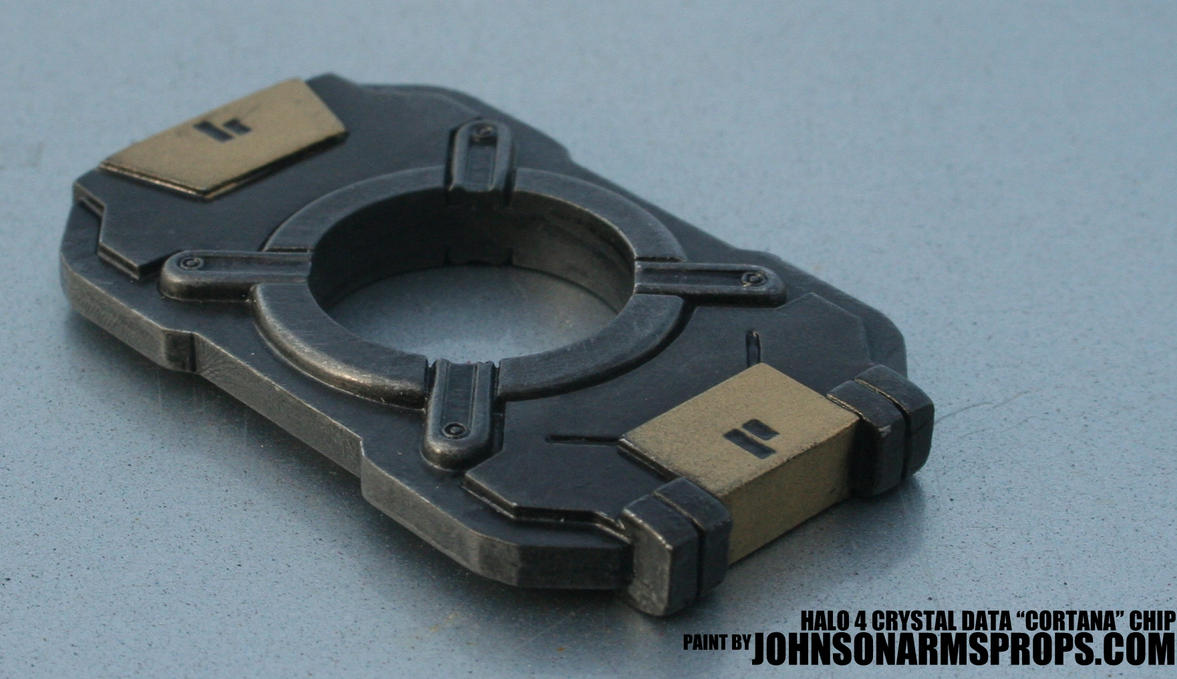 HALO 4 Cortana Chip Replica by JohnsonArms