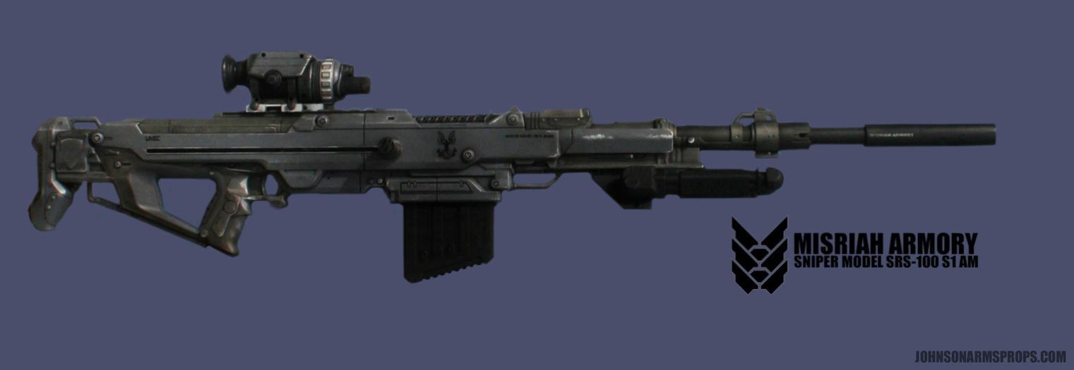 Nerf Centurion -HALO Sniper Rifle Mockup by JohnsonArmsProps ...