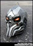 Halo 4 Didact Helmet Paintjob Progress