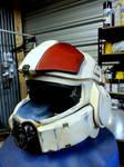 Halo 4 Infantry Marine Helmet Progress