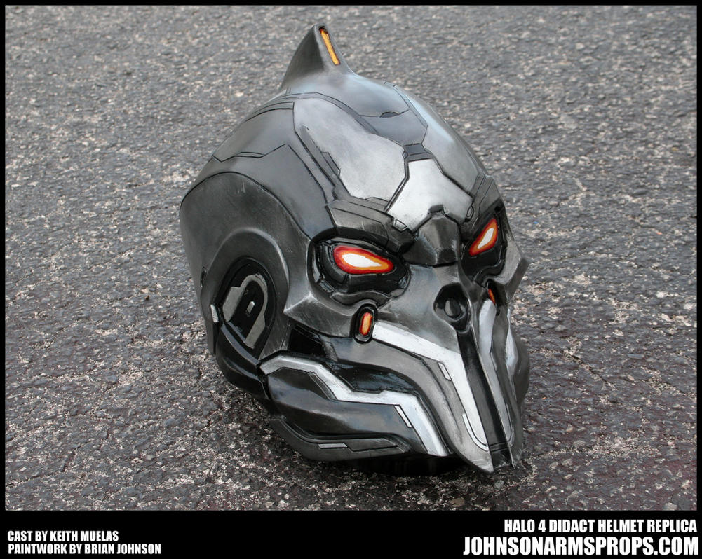 Halo 4 Didact Helmet Paintjob Finished by JohnsonArms