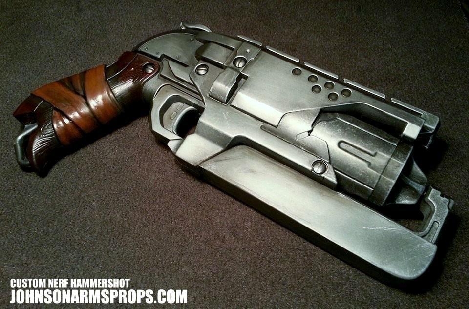 Custom Nerf Hammershot in Steel